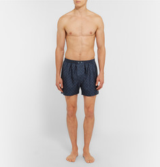 Derek Rose Otis Silk Boxer Shorts