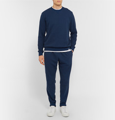Derek Rose Devon Tapered Loopback Cotton-Jersey Sweatpants
