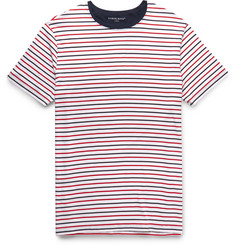 Derek Rose Alfie Striped Stretch Micro Modal Jersey T-Shirt