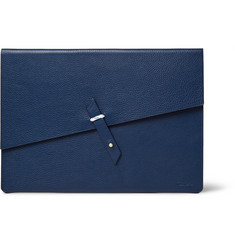 Miansai Rope-Trimmed Full-Grain Leather Portfolio