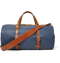 Miansai Leather-Trimmed Coated-Canvas Holdall