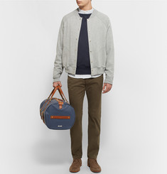 Miansai - Leather-Trimmed Coated-Canvas Holdall