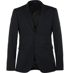 Burberry - Prorsum Navy Slim-Fit Wool and Silk-Blend Suit Jacket