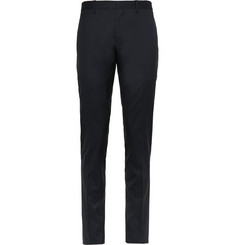 Burberry Prorsum - Navy Slim-Fit Wool and Silk-Blend Suit Trousers