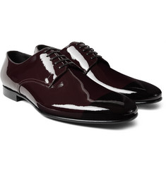 Burberry Prorsum - Two-Tone Patent-Leather Derby Shoes