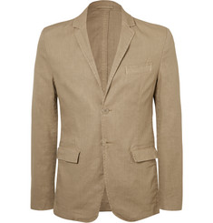 Aspesi - Sand Slim-Fit Unstructured Linen-Blend Blazer