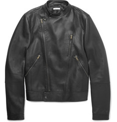 Tomas Maier Slim-Fit Leather Biker Jacket