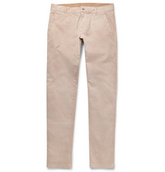 Tomas Maier - Slim-Fit Washed-Cotton Chinos