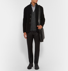 Tomas Maier Slim-Fit Merino Wool Cardigan