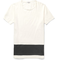 Tomas Maier - Two-Tone Cotton-Jersey T-Shirt