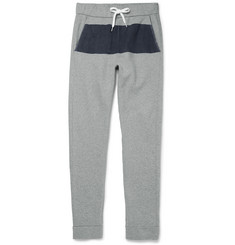 Tomas Maier Colour-Block Cotton Sweatpants