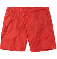 Tomas Maier Long-Length Lightweight Shell Swim Shorts