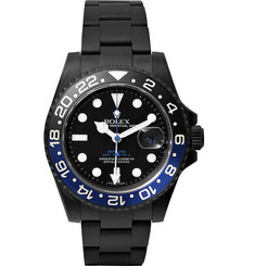 Bamford Watch Department GMT Master II Titanium-Coated Watch