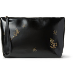Alexander McQueen - Embossed Leather Pouch