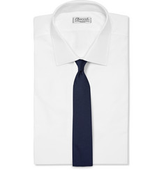 Alexander McQueen - Embroidered Silk-Twill Tie