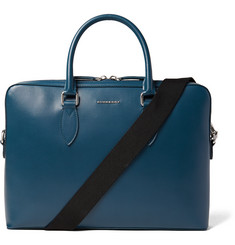 Burberry - Cross-Grain Leather Briefcase