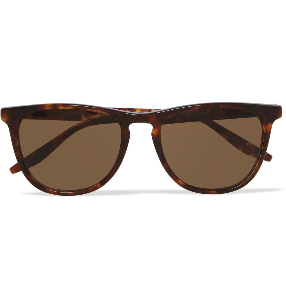 Tuco Square Frame Tortoiseshell Acetate Polarised Sunglasses Tortoiseshell