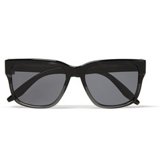 Barton Perreira Hopper Square-Frame Two-Tone Acetate Sunglasses