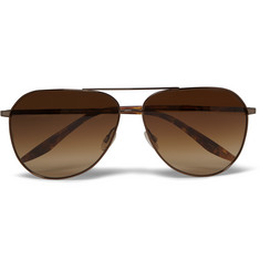 Barton Perreira Hawkeye Tortoiseshell Acetate and Metal Sunglasses