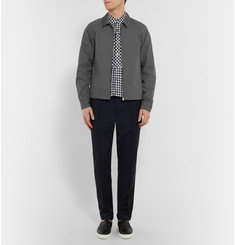 Jil Sander Cotton-Blend Blouson Jacket