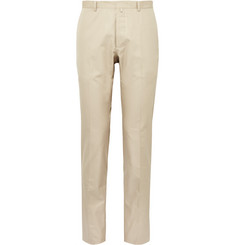 Jil Sander Slim-Fit Cotton-Twill Trousers