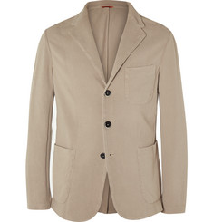 Barena - Sand Slim-Fit Unstructured Cotton-Jersey Blazer