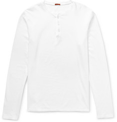 Barena - Cotton-Jersey Henley T-Shirt