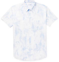Comme des Garcons SHIRT Slim-Fit Tie-Dyed Cotton Shirt