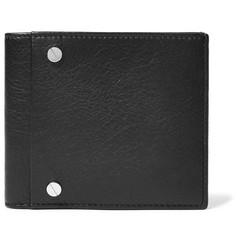 Balenciaga Arena Grained-Leather Billfold Wallet