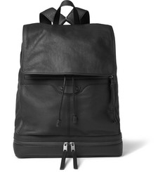Balenciaga Textured-Leather Backpack