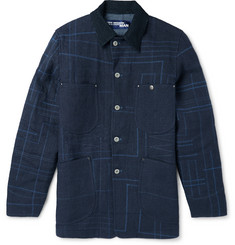Junya Watanabe - Elbow Patch Jute-Canvas Jacket