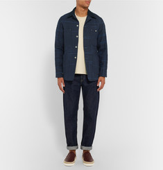Junya Watanabe Elbow Patch Jute-Canvas Jacket