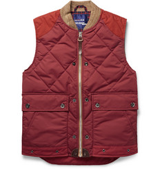 Junya Watanabe + Duvetica Quilted Shell Down Gilet