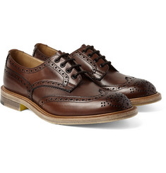Junya Watanabe - + Tricker's Burnished-Leather Wingtip Brogues