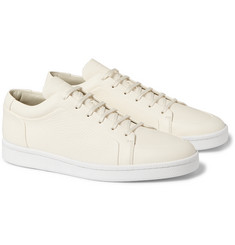 Balenciaga - Grained-Leather Sneakers