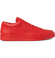 Balenciaga - Full-Grain Leather Sneakers