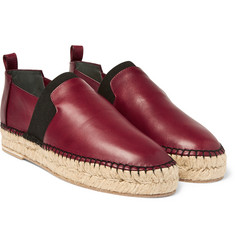 Balenciaga - Leather Espadrilles