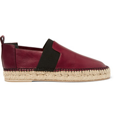 Balenciaga Leather Espadrilles