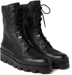 Balenciaga - Leather Combat Boots