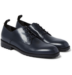 Balenciaga - Commando-Sole Leather Derby Shoes