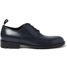 Balenciaga Commando-Sole Leather Derby Shoes