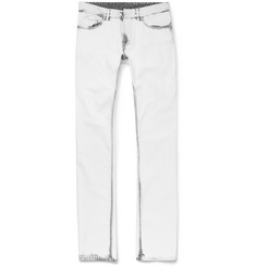 Balenciaga Slim-Fit Acid-Wash Denim Jeans