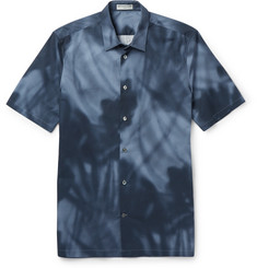Balenciaga Slim-Fit Printed Cotton Shirt