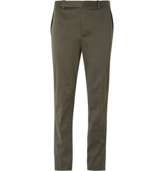 Balenciaga Slim-Fit Cotton-Twill Chinos