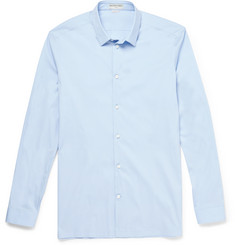 Balenciaga - Slim-Fit Cotton-Blend Poplin Shirt