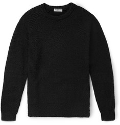 Balenciaga Distressed Cotton-Blend Sweater