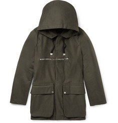 Balenciaga Cotton-Twill Parka