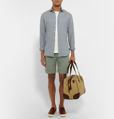 Incotex Linen and Cotton-Blend Shorts
