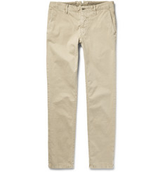 Incotex Slim-Fit Stretch-Cotton Trousers