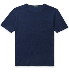 Incotex - Slim-Fit Mélange Cotton T-Shirt
